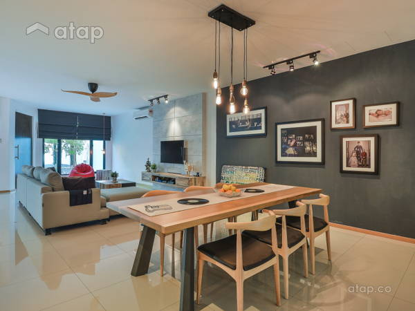 Contemporary Modern Dining Room@Old Klang Road