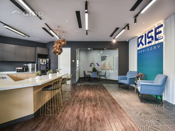 Contemporary Industrial Office@RISE Advisory By Manulife