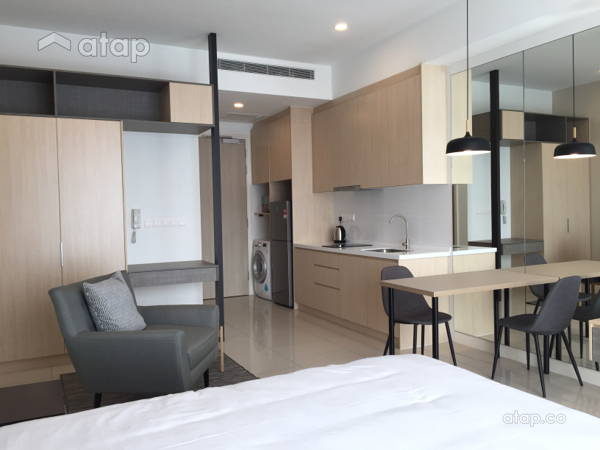 Contemporary Minimalistic Bedroom Living Room@Project Nadi Bangsar_Studio