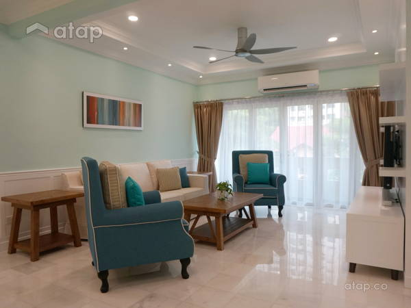 Contemporary Country Living Room@Project Kiara
