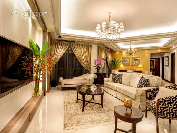 Classic Contemporary Balcony Dining Room@Ceva Residence @ Bukit Utama