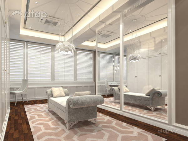 Classic Modern Bedroom@The Rafflesia
