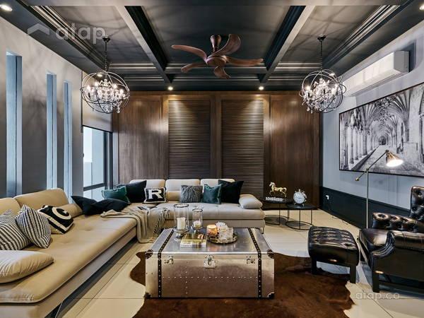 Contemporary Modern Living Room@Eco Sanctuary 48