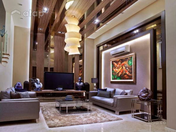 Contemporary Modern Living Room@Kenanga Residence