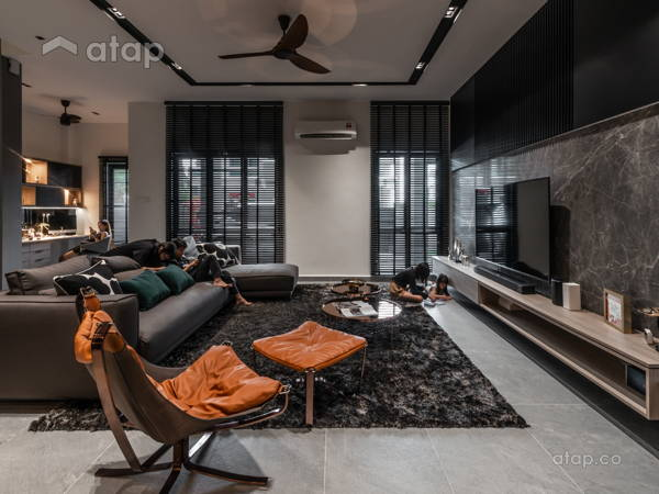 Modern Living Room@Le Gris