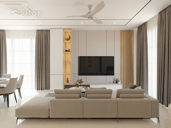 Contemporary Modern Dining Room Living Room@Eco Majestic