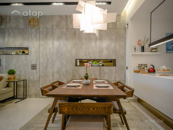 Industrial Modern Dining Room@Seringin Residences, Happy Garden