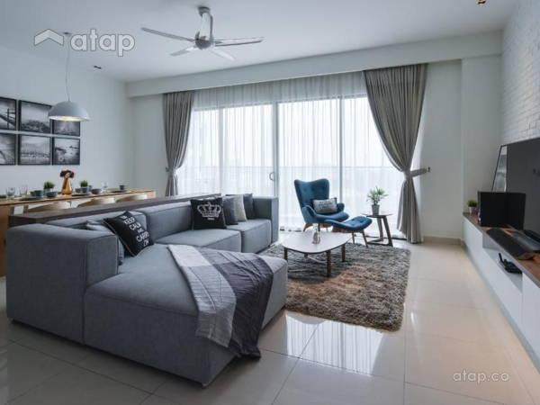 Scandinavian Living Room@Andana @ D'Alpinia, Puchong