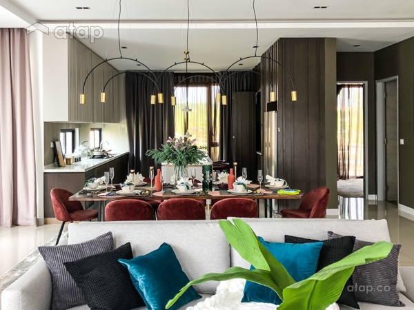 Minimalistic Zen Kitchen Living Room@Jadehills