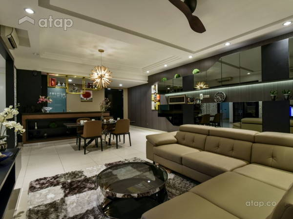 Living Room@Seringin Residences