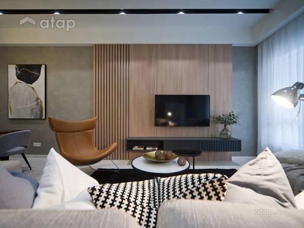 Contemporary Modern Living Room@Fairfield 21