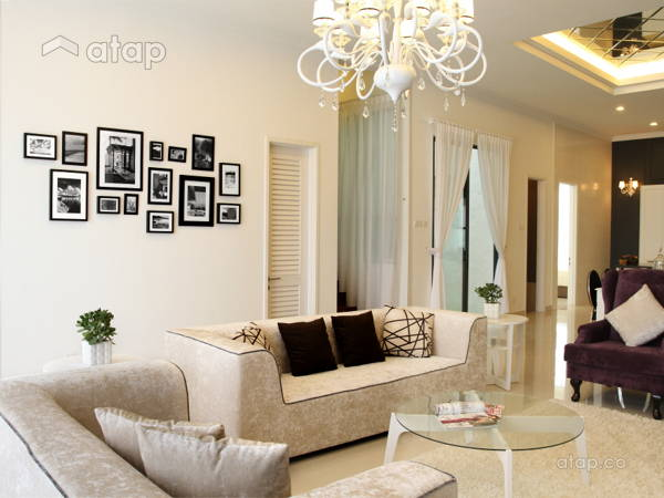 Contemporary Modern Living Room@Mansion Park