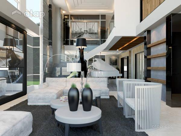 malaysia green living room architectural interior design ideas in