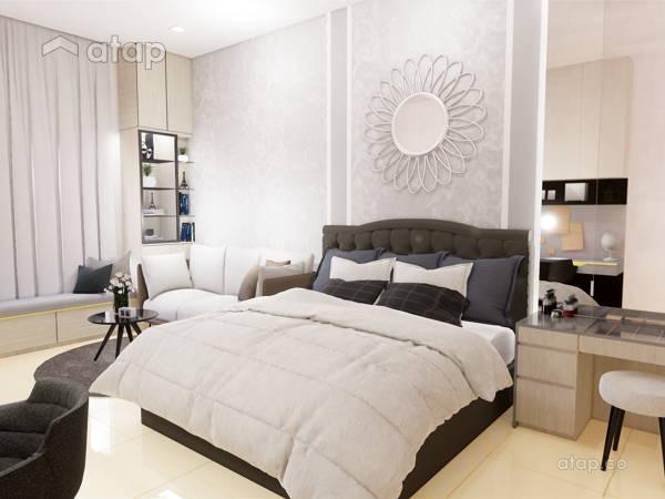 Contemporary Modern Bedroom@ECO SANCTUARY, TELOK PANGLIMA GARANG