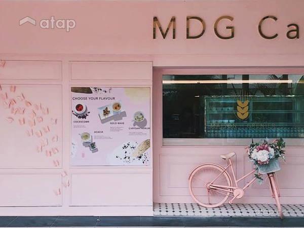 Minimalistic Vintage Retail@MDG cafe @ Hartamas shopping centre