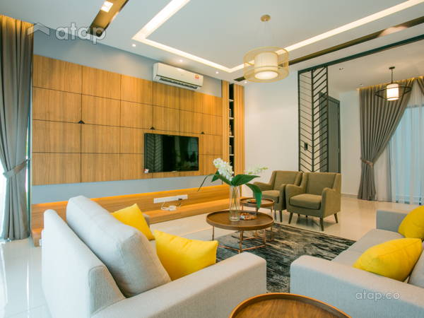 Modern Living Room@Ludwigia, Setia Eco Glades