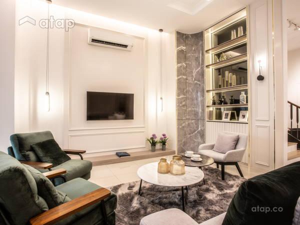 Modern Living Room@Setia Safiro Show Unit Type A