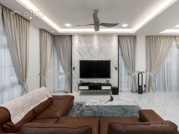 Modern Living Room@Eco Spring Bradford Residences