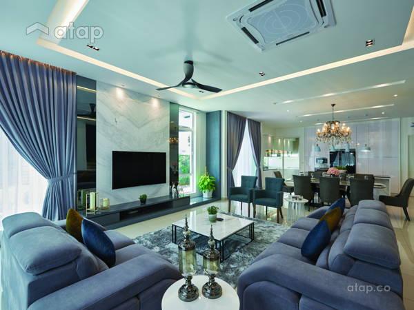 Minimalistic Modern Living Room@Palmiera @ Kinrara Residence