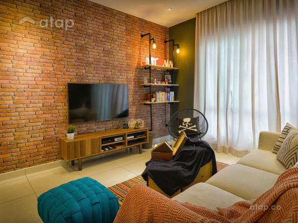 Industrial Modern Living Room@Glomac Damansara