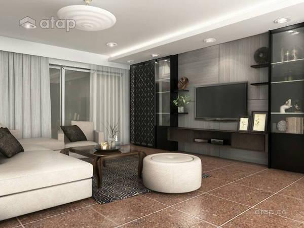 Modern Living Room@AIM POINT CONDO, BANTING