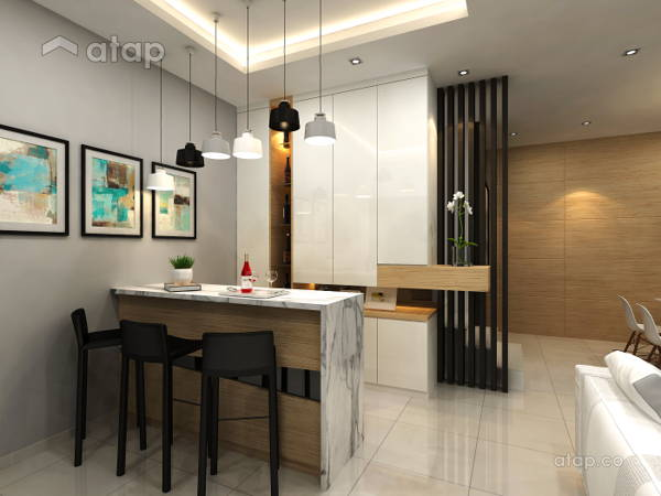 Contemporary Modern Foyer@Taman Lagenda Putra, Kulai