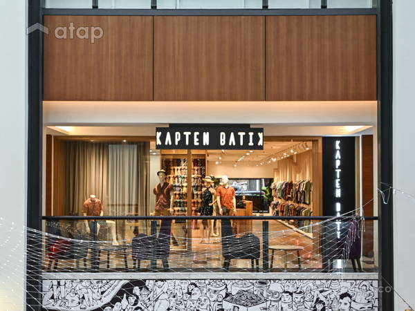 Asian Contemporary Retail@Kapten Batik Flagship Store