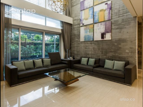 Contemporary Modern Living Room@Sri Pilmoor