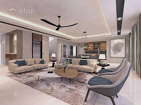 Modern Living Room@Aspen @ Cyberjaya