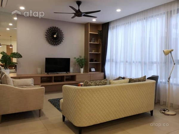 Minimalistic Living Room@KL Gateway