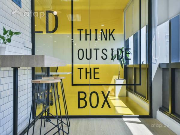 Minimalistic Modern Office@MICE PODIUM, Bangsar South Office