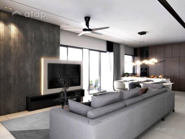 Modern Living Room@Eco Ardence, Setia Alam