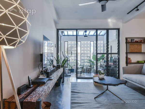 Malaysia Retro Living Room Architectural Interior Design Ideas