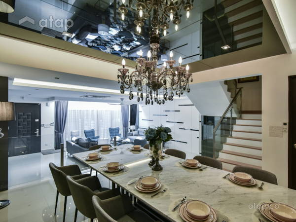 Contemporary Modern Dining Room@< Metamorphose Magic > @ TTDI