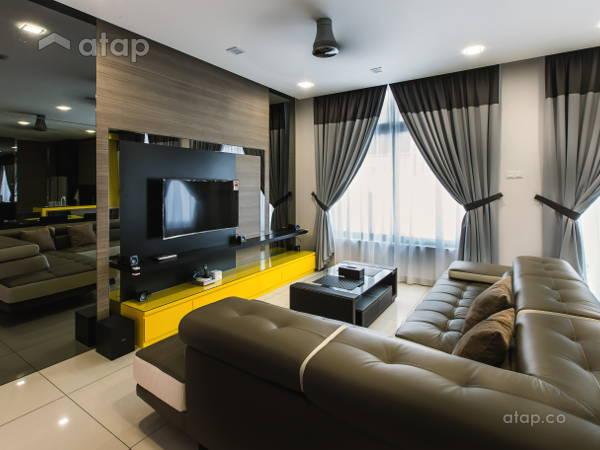 Contemporary Modern Living Room@Adda Height, Johor Bahru (2)