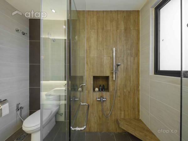 Malaysia Gold Zen Bathroom Architectural Interior Design Ideas