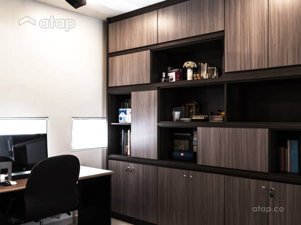 Architect interior designer ideas in malaysia modern scandinavian office study room modern contemporary interior canary residence