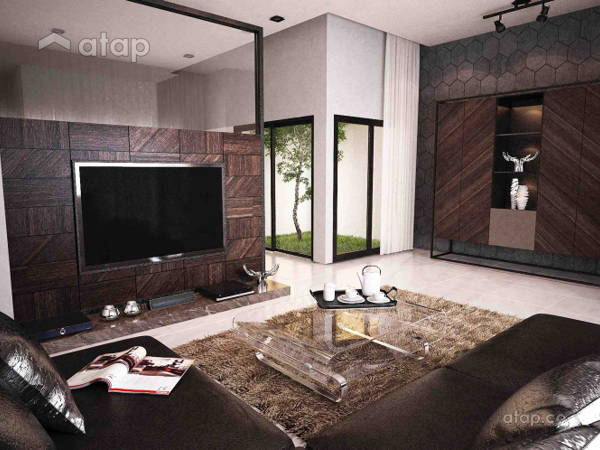 Contemporary Living Room@Plenitude @ Taman Putra Prima
