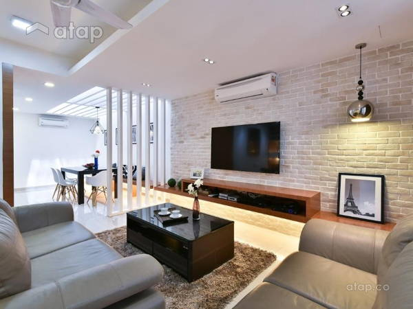 Contemporary Modern Living Room@Wangsa Melawati