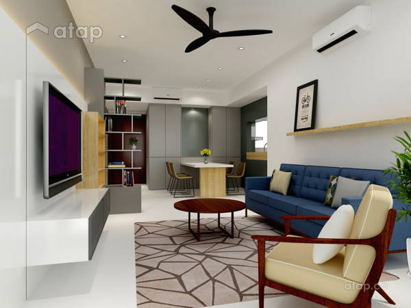 Contemporary Modern Living Room@Project C