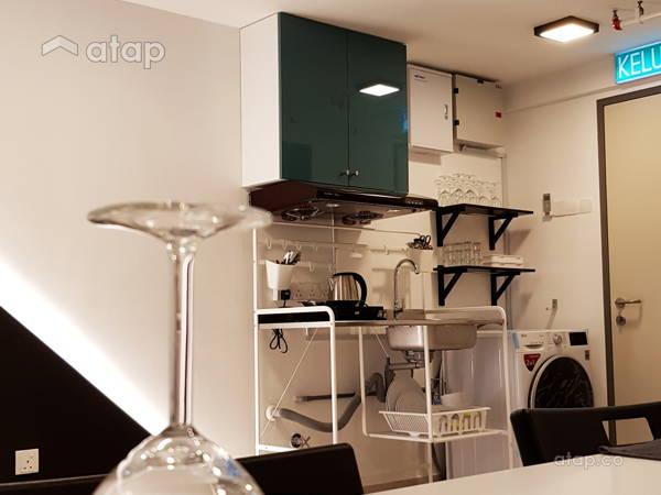 Minimalistic Dining Room Kitchen@PINNACLE KELANA JAYA, PETALING JAYA
