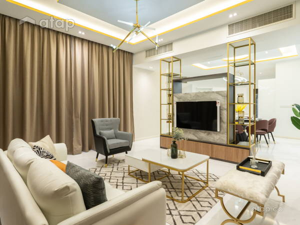 Classic Modern Living Room@Setia V Residence Type 23A-01