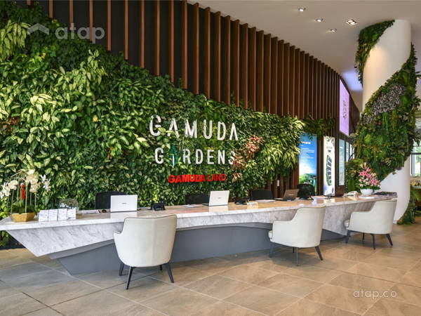Contemporary Modern Office Retail@Gamuda Gardens Sales Gallery