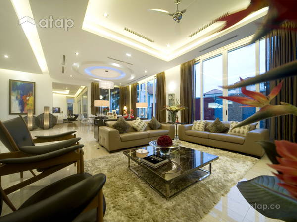 Contemporary Modern Living Room@Pang Bungalow
