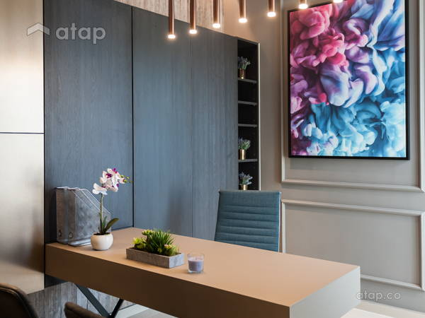 contemporary modern study room quatro homes for lowyat group solid design studio - Modern Study Room Interior Design