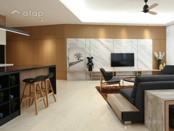 Minimalistic Modern Living Room @ Sanctuary ...