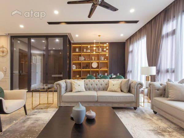 Classic Modern Living Room@Wangsa 9