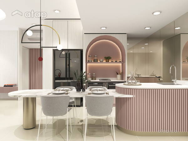 Contemporary Kitchen@Whimsical Dwelling - Seringin Residences, PJ