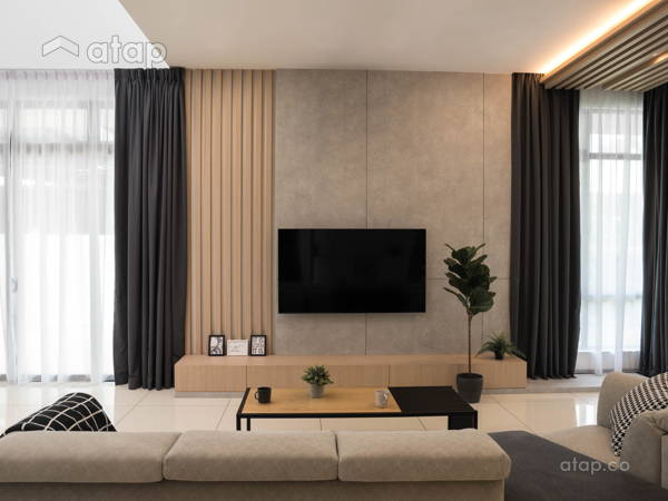 Scandinavian Zen Living Room@Straits View