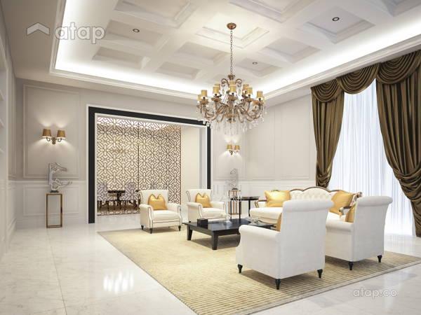 Malaysia Classic Living Room Architectural Interior Design Ideas In